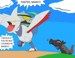 Skarmory and Ferrothorn's Greastest Enemy
