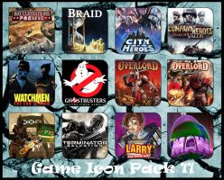 Game Aicon Pack 11 by HarryBana