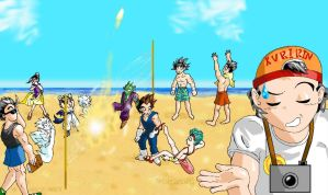 Buu Buu Beach Volleyball by nekoni