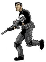 Punisher Great Marvel Race by Gaston25