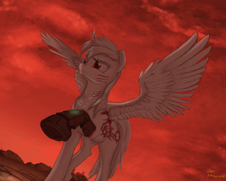 Appletart Under the Red Cloud by Crystal-Eclair