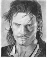 Orlando Bloom-Will Turner by bclara88