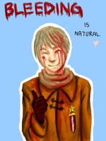 Bleeding is Natural by iAlly