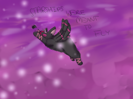 Starships Were Meant To F L Y by KitKatQT