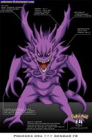 Pokedex 094 - Gengar FR by Pokemon-FR