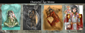 Aria- Character age meme by jaoosa