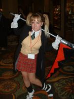Maka from soul eater by WereDragonMan