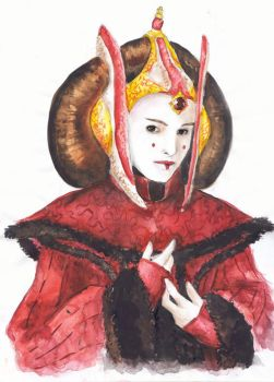 Amidala in Throne Room Gown by Nakiliel