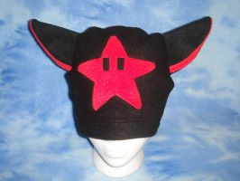 Red invincibility Star Hat by HatcoreHats