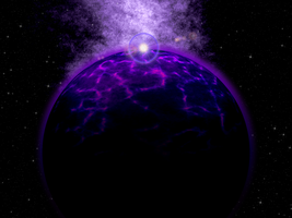 Utu, Purple planet by Ekhorizon