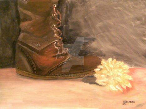 A flower and a boot... by yarianna