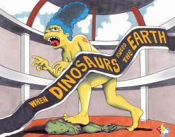 Jurassic Marge: The Museum Escape by Gulliver63