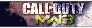 Modern Warfare 3 Banner by Slydog0905