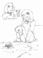 RIP Brian Griffin by Wolfgerlion