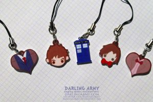 Darling Doctor Who Key Chain Phone Charms by DarlingArmy