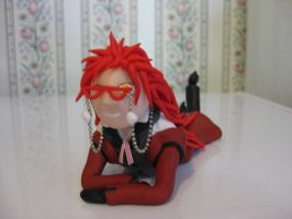 Grell Sutcliff sculpture by BurnsideChar