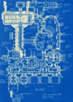 Space Station Blueprint by SoulSonicFarce