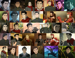 Mako Collage (Books 1-4) by JackieStarSister