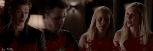 Klaus et Rebekah by Kittygifs