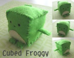 Cubed Froggy by Mechashinobi-X