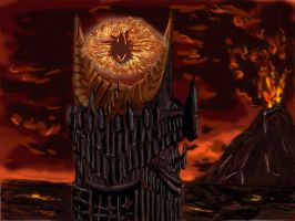 Sauron by Sitsumi