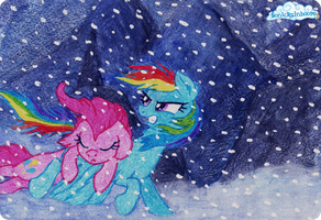 Blizzard. by SonicRainboomZ