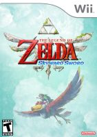 Skyward Sword Front Cover by CapuchinoMedia