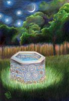 Sacred Well by delightedmuse