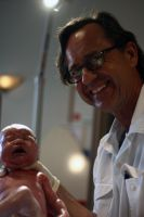Baby Annalise Sophia and Dr. by drinkgreenwater
