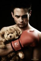 Boxer and his teddy by PedroGilTorregrosa