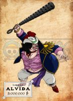 [WANTED] One Piece - Fat Alvida by ElectroCereal