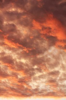 Fire Clouds 02 - Stock by Thy-Darkest-Hour