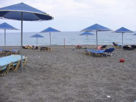 121 - Beach in Crete by kitsune-oni-stocks