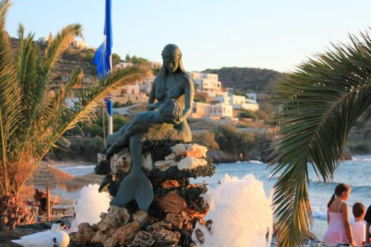 Syros August 2011,The mermaid by xneo1