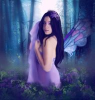 The Purple Fairy by silent-spring