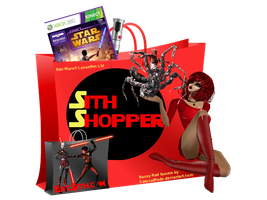 EAT SITH LOGO: SITH SHOPPER by Eat-Sith