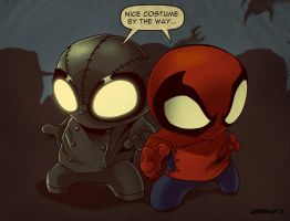 Spideys by Ahrrr
