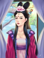 Chinese princess by WiskyLittle