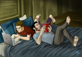 STEREK Chilling time by Slashpalooza