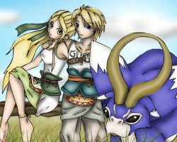 Ordon Link and Lady by Lady-of-Link