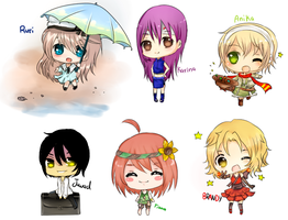 Free Chibis by Hannun