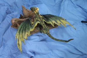 Alternate paint for our Dragon Kit 2 by RavendarkCreations