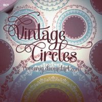 Vintage Circles Premium Brushes by Romenig