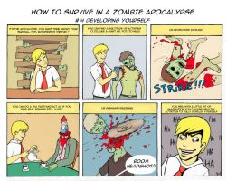 Zombie Apocalypse Tutorial 4 by Rod-Wolf
