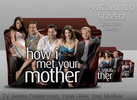 How I Met Your Mother Folder Icon by atty12