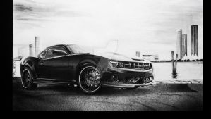WDT Petrolheads veapon TWIN Pressured Camaro by BorosDusan
