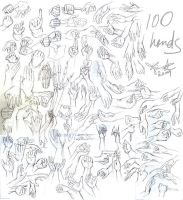 100 Hands by Kiriska