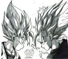 ssj goten and ssj2 gohan by trunks24