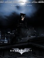 Gotham City- Catwoman Poster by Gato-Chico