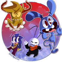 Gift: Even more Friends. by SynDuo